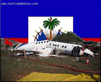 A disaster in the air, Airplane crash on Haiti