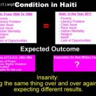 New Haitian army, doing same and expecting different results