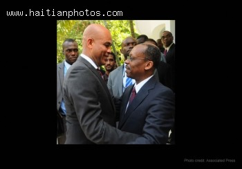 Michel Martelly Meets Jean Bertrand Aristide In Reconciliation