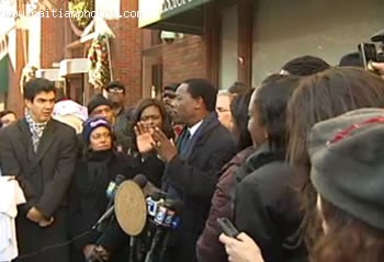 Haitian Community In New York Protests For Haitian Women And HIV