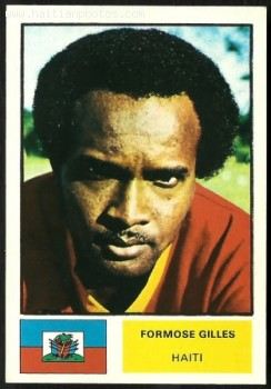 world Cup 1974 - Formose Gilles