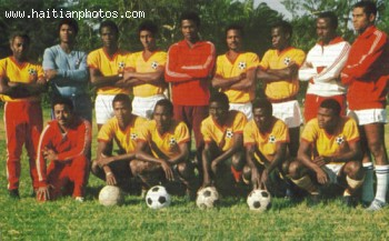 world Cup 1974 - Haiti National Football Team