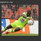 Haitian goalkeeper Johnny Placide