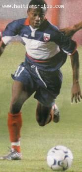 Haitian football, soccer, player Alexandre Boucicaut