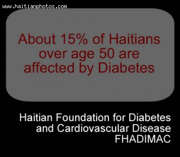FHADIMAC, 15 Percent Of Haitians Over 50 Are Diabetic
