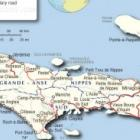 Abricots Located In Grand'Anse Department Haiti - Map