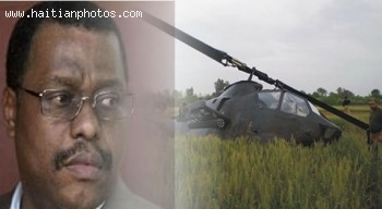 Helicopter carrying Garry Conille made emergency landing in Petion-Ville