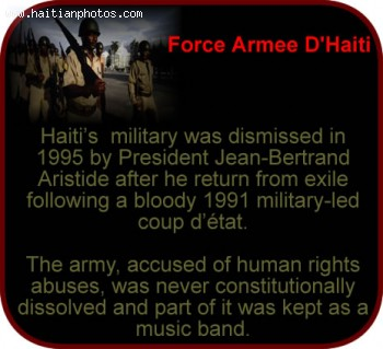 Jean-Bertrand Aristide disbanded the Haitian army On 15 October 1994