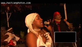 Haitian Dancer And RAM Lead Singer Lunise Morse