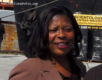 Haitian-American State Representative Daphne Campbell
