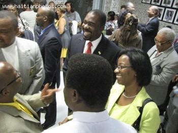 Arnel Belizaire And Haitian Activist Lucie Tondreau