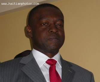 New Haiti Secretaire D'etat a la Securite, Reginald Delva