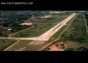 renovated Toussaint Louverture International Airport  runway