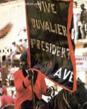Duvalier Propaganda - Vive Duvalier President A Vie