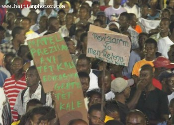 Michel Martelly - Mateli Prezidan Avie Tet Kale - Edikasyon Gratis Tet Kale