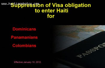 No Visa requirement for Dominicans, Panamanians, Colombians to come to Haiti