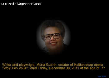 Mona Guerin of Woy Les Voila, Dead at the age of 77