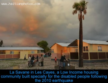 La Savanne home for the disabled people in Les Cayes