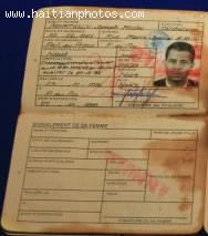 The Haitian Passport Of Michel Martelly