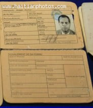 The Passport Of Michel Martelly Prooving His Haitian Citizenship