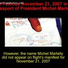 The date of November 21, 2007 and Michel Martelly