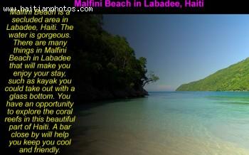 Malfini Beach in Labadee, Haiti