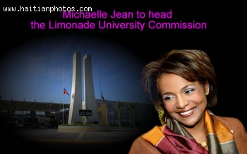 Michaelle Jean In Charge Of Limonade University Commission
