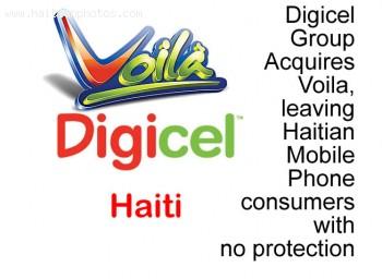 Digicel Acquires Haitian company Voila, no anti-trust law affected