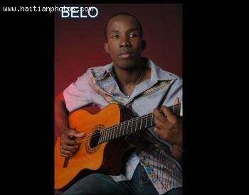 Belo, A Haitian Musician Playing Reggae