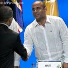 Prime Minister Laurent Lamothe And Barack Obama