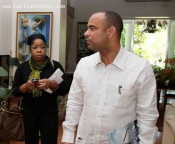 Laurent Lamothe And Telecommunications Global Voice Group