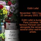 Edith Lefel Picture