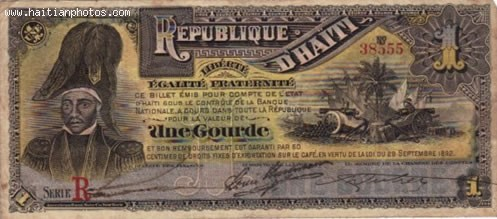 Haiti Early Currency, Gourde And Piastre