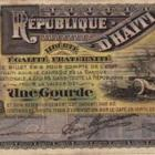 Haiti Early Currency Gourde Piastre