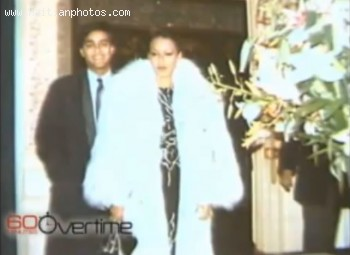 Michele Bennett Duvalier And Her Fur