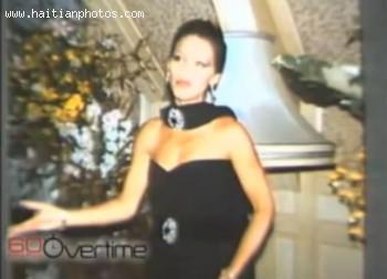 Haitian Fashion Queen Michele Bennett Duvalier