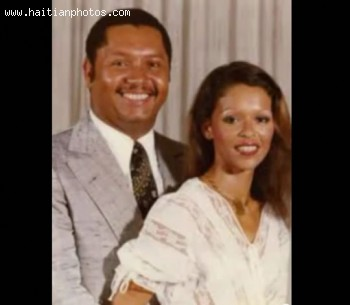 The Presidential Family Michele Bennett And Jean Claude Duvalier