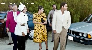 Michele Bennett Duvalier And Jean Claude Duvalier