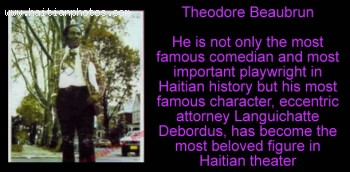 Languichatte Debordus, The King Of Haitian Comedy