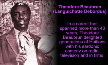 Theodore Beaubrun, Haitian Actors And Artists