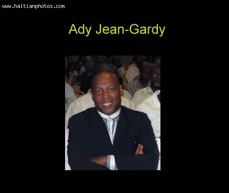 Ady Jean Gardy, Minister Of Communication