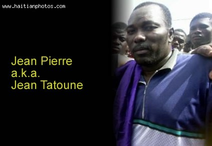 Jean Claude Duvalier And Jean Pierre Baptiste Alias Jean Tatoune