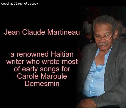 Carole Demesmin Maroule And Jean Claude Martineau,