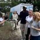 Shakira In Haiti To Build School After Earthquake