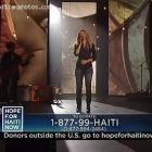 Shakira Singing Her Favorite Song At 'Hope For Haiti' Benefit Telethon