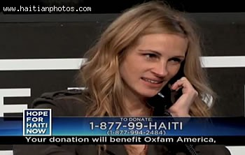 Angelina Jolie In Hope For Haiti Telethon