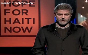 George Clooney Raised Money For Haiti Earthquake Victims