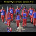 The Team Of Haiti At Olympic Games In London 2012