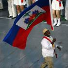 Haiti Olympic Games In London 2012, Flag Carryinh High