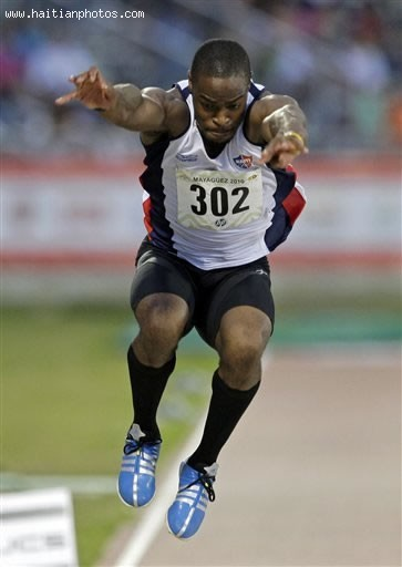 Samyr Laine Represents Haiti At The Olympic Games In London 2012